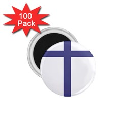 Patriarchal Cross 1 75  Magnets (100 Pack)  by abbeyz71