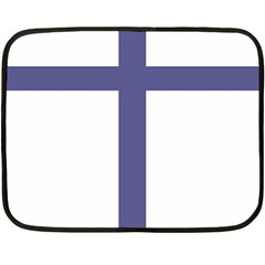 Patriarchal Cross Fleece Blanket (mini) by abbeyz71