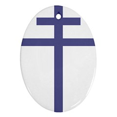 Patriarchal Cross  Ornament (oval) by abbeyz71