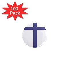 Patriarchal Cross  1  Mini Magnets (100 Pack)  by abbeyz71