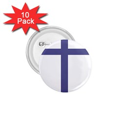 Patriarchal Cross  1 75  Buttons (10 Pack) by abbeyz71