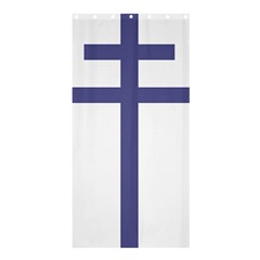 Patriarchal Cross  Shower Curtain 36  X 72  (stall)  by abbeyz71