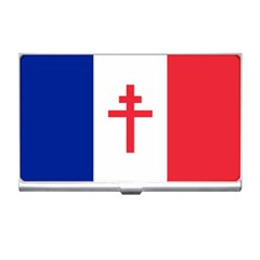 Flag Of Free France (1940 1944) Business Card Holders by abbeyz71