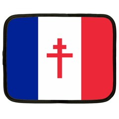 Flag Of Free France (1940 1944) Netbook Case (xl)  by abbeyz71