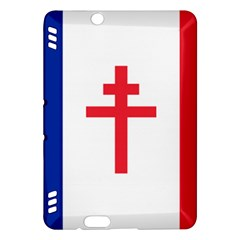 Flag Of Free France (1940 1944) Kindle Fire Hdx Hardshell Case by abbeyz71