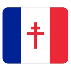 Flag Of Free France (1940 1944) Double Sided Flano Blanket (small)  by abbeyz71