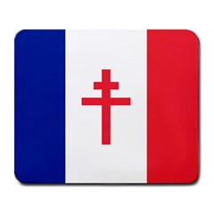 Flag Of Free France (1940 1944) Large Mousepads by abbeyz71