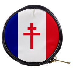 Flag Of Free France (1940 1944) Mini Makeup Bags by abbeyz71