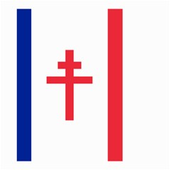 Flag Of Free France (1940 1944) Small Garden Flag (two Sides) by abbeyz71