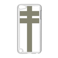 Cross Of Loraine Apple Ipod Touch 5 Case (white) by abbeyz71