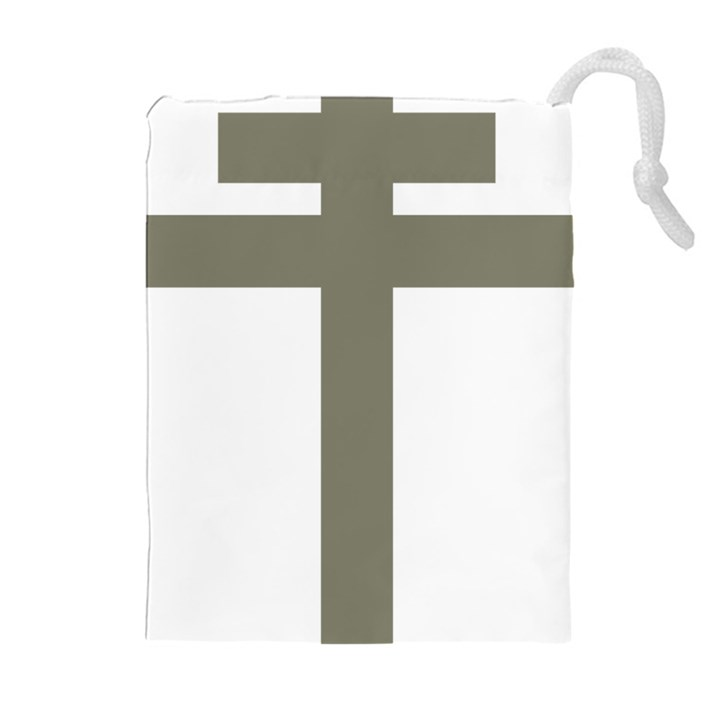 Cross of Loraine Drawstring Pouches (Extra Large)