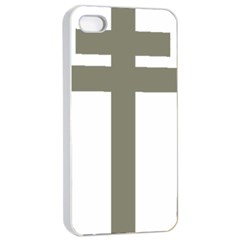 Cross Of Lorraine  Apple Iphone 4/4s Seamless Case (white) by abbeyz71