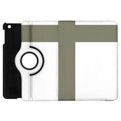 Cross Of Lorraine  Apple Ipad Mini Flip 360 Case by abbeyz71