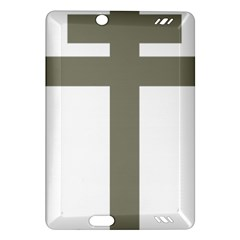 Cross Of Lorraine  Amazon Kindle Fire Hd (2013) Hardshell Case by abbeyz71
