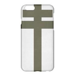 Cross Of Lorraine  Apple Iphone 6 Plus/6s Plus Hardshell Case by abbeyz71