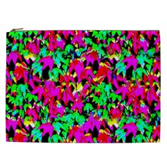 Colorful Leaves Cosmetic Bag (xxl)  by Costasonlineshop