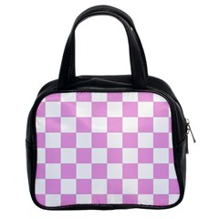 Pattern Classic Handbags (2 Sides) by Valentinaart