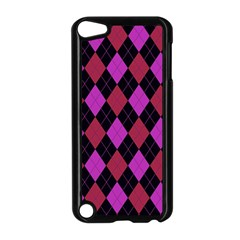 Plaid Pattern Apple Ipod Touch 5 Case (black) by Valentinaart