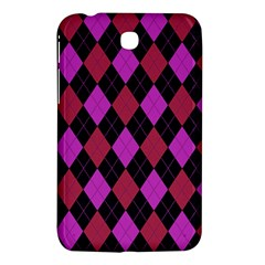 Plaid Pattern Samsung Galaxy Tab 3 (7 ) P3200 Hardshell Case  by Valentinaart