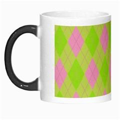 Plaid Pattern Morph Mugs by Valentinaart