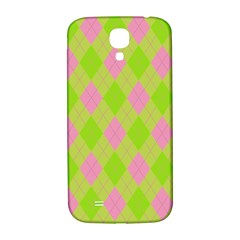 Plaid Pattern Samsung Galaxy S4 I9500/i9505  Hardshell Back Case by Valentinaart