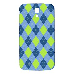 Plaid Pattern Samsung Galaxy Mega I9200 Hardshell Back Case by Valentinaart