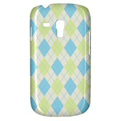 Plaid Pattern Galaxy S3 Mini by Valentinaart