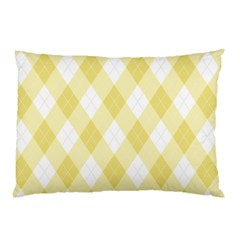 Plaid Pattern Pillow Case by Valentinaart