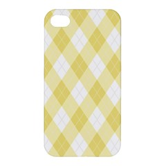 Plaid Pattern Apple Iphone 4/4s Premium Hardshell Case by Valentinaart