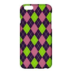 Plaid Pattern Apple Iphone 6 Plus/6s Plus Hardshell Case by Valentinaart