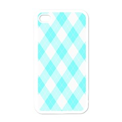 Plaid Pattern Apple Iphone 4 Case (white) by Valentinaart