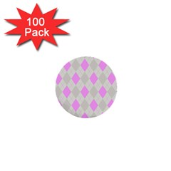 Plaid Pattern 1  Mini Buttons (100 Pack)  by Valentinaart