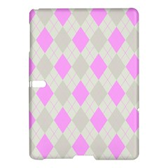 Plaid Pattern Samsung Galaxy Tab S (10 5 ) Hardshell Case  by Valentinaart