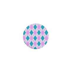 Plaid Pattern 1  Mini Magnets by Valentinaart