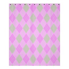 Plaid Pattern Shower Curtain 60  X 72  (medium)  by Valentinaart