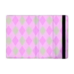 Plaid Pattern Apple Ipad Mini Flip Case by Valentinaart