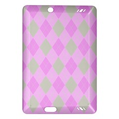 Plaid Pattern Amazon Kindle Fire Hd (2013) Hardshell Case by Valentinaart