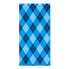 Plaid Pattern Shower Curtain 36  X 72  (stall)  by Valentinaart