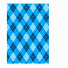 Plaid Pattern Large Garden Flag (two Sides) by Valentinaart