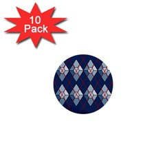 Diamonds And Lasers Argyle  1  Mini Buttons (10 Pack)  by emilyzragz