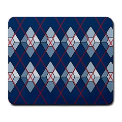 Diamonds And Lasers Argyle  Large Mousepads by emilyzragz