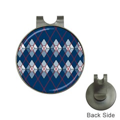 Diamonds And Lasers Argyle  Hat Clips With Golf Markers by emilyzragz