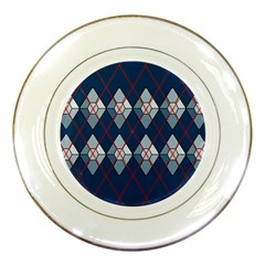 Diamonds And Lasers Argyle  Porcelain Plates by emilyzragz