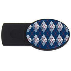 Diamonds And Lasers Argyle  Usb Flash Drive Oval (4 Gb) by emilyzragz