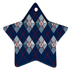 Diamonds And Lasers Argyle  Star Ornament (two Sides) by emilyzragz