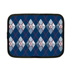 Diamonds And Lasers Argyle  Netbook Case (small)  by emilyzragz