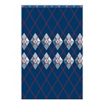 Diamonds and Lasers Argyle  Shower Curtain 48  x 72  (Small)  42.18 x64.8 Curtain
