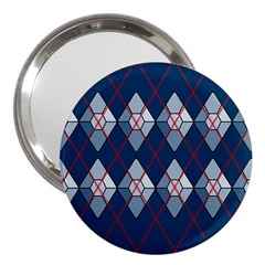 Diamonds And Lasers Argyle  3  Handbag Mirrors by emilyzragz