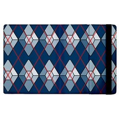 Diamonds And Lasers Argyle  Apple Ipad 3/4 Flip Case by emilyzragz