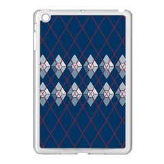 Diamonds And Lasers Argyle  Apple Ipad Mini Case (white) by emilyzragz